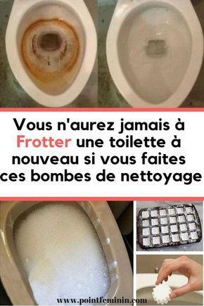 Vous ne laverez plus jamais une toilette après avoir fait ces bombes de nettoyage