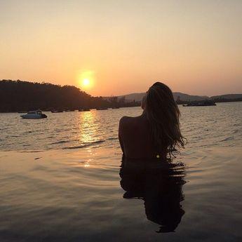 Sunset at @songsaaprivateisland  #nofilter #Cambodia - #FotosEnLaPlaya