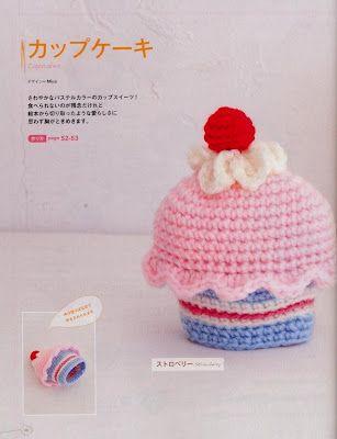 Handmade By ülkü Gratis Häkelanleitung Muffin Als Geburts