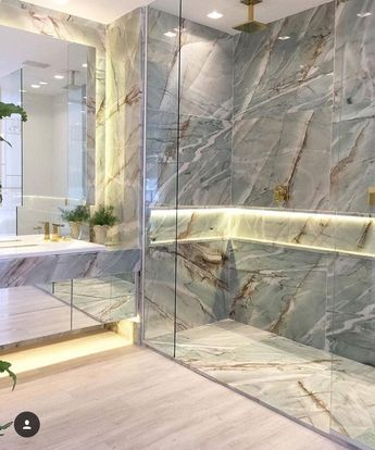 Looking for inspiration for your new interior design project? You can use and abuse the marble texture. Discover more at luxxuhome.net
