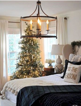 40 Cute Farmhouse Christmas Decorations Ideas