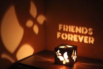 Friends Forever Love Sign Boyfriend Birthday Ideas Girlfriend Gift For Her Romance Couple