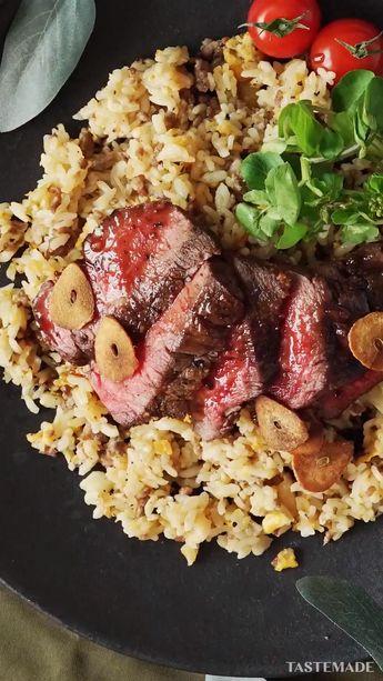【メンズ飯】ガリガリガーリック肉ライス🍖 ~ レシピ