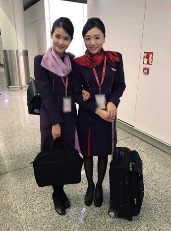 【香港】香港航空 客室乗務員 / Hong Kong Airlines cabin crew【Hong Kong】