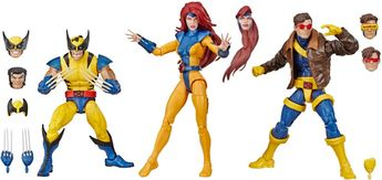 "Marvel - Legend Series 6"""" Collectible Action Figures X-Men (3-Pack) - Multi"