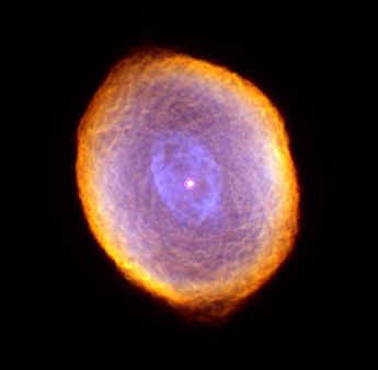 Spirograph Nebula Space Photo by Astronomy Gift Shop