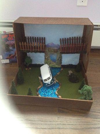Hatchet Diorama
