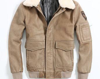 4b1368b0d1a Promo Offer HARLEY DAMSON Men Brown Air Force Flight Leather Jacket Wool  Collar Size XXXL Genuine