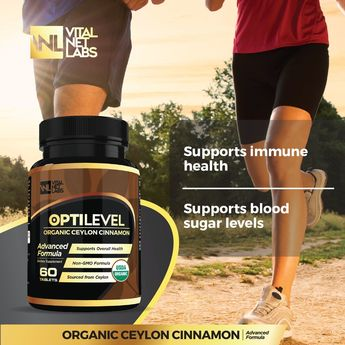 Ceylon Cinnamon Supplement – Organic USDA Certified True Cinnamon Tablets – Natural  Non GMO  Supports Healthy Blood Sugar Control Cholesterol Joints Brain Heart and Circulation  No Soy or Dairy *** Find out more about the great product at the image link. (This is an affiliate link)