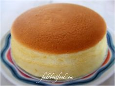 Japanese Cheesecake. I love it so much better than NY cheesecake. It's so light and delicious. - I am going to have to try this!