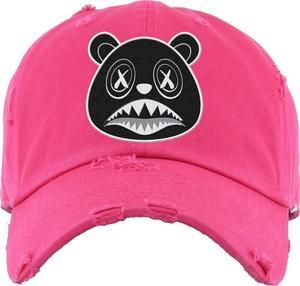 acff25a676595c Baws Dad Hat Oreo Baws Hot Pink Dad Hat