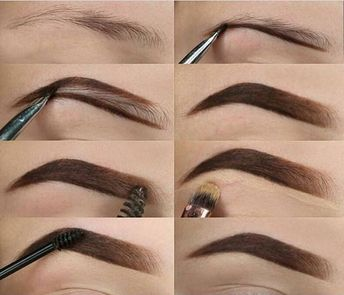 THE TECHNIQUE OF PAINTING EYEBROWS IS SOMETHING EVERY GIRL SHOULD KNOW - Page 38 of 40
