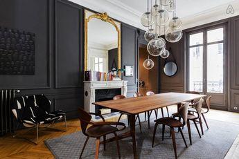 Изящные современные апартаменты для семьи в Париже
