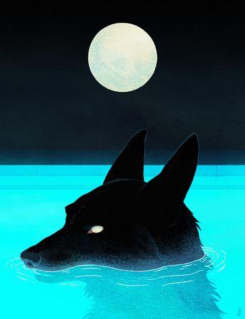 Haunted by Animals – Les illustrations envoûtantes de Jenna Barton (image)
