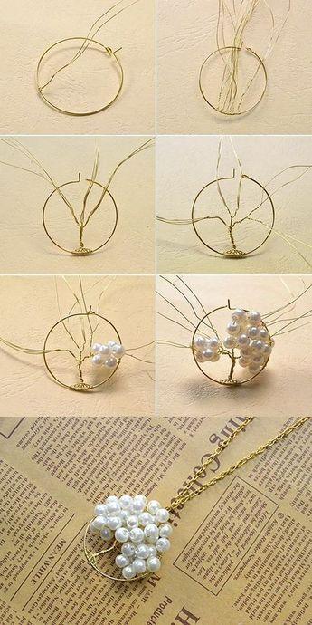 Lisa Crafts Blog: Tutoriel: W - Bijoux de bricolage