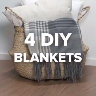 Diy blanket hygge slow life do it yourself fabriquer soi meme son plaid couverture pour un hiver cosy #ikeahack #ikeahacker #lack #diy #ikeahacker #doityourself #hygge #slowlife