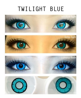 Twilight Blue Lens
