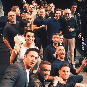 X-Men, Deadpool, Gambit, Fantastic Four, and the all mighty Stan Lee.