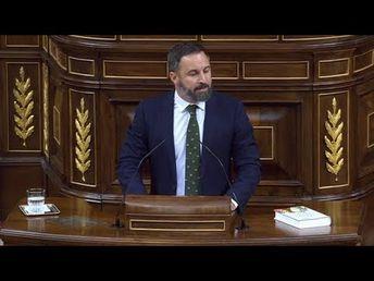 Santiago Abascal arremete contra las políticas 'buenistas' en materia de inmigaración