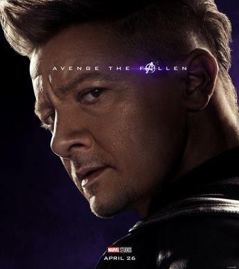 Avengers Endgame Poster, Clint Barton / Hawkeye / Ronin #Avengers #AvengersEndgame #Marvel #MCU #MarvelStudios #Hawkeye #Ronin