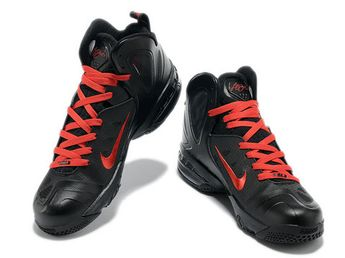 premium selection 340cc 22a06 Nike LeBron 9 PS Elite Playoffs Black Red Ruby Style code  516958-102