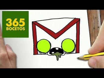 Comment Dessiner Logo Facebook Zombie Kawaii Etape Par Etap