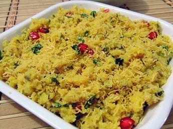 Surti Sev Khamani • Gujarati Recipes