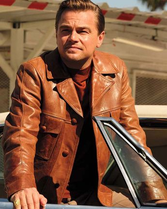 Rick Dalton Jacket Leonardo DiCaprio Once Upon a Time in Hollywood