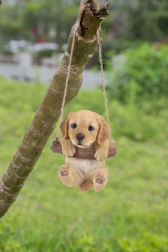 HiLine Gift Ltd. Hanging Golden Retreiver Puppy * You could get additional information at the picture link. (This is an affiliate link).