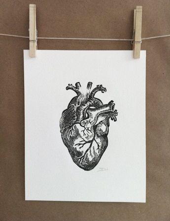 Tumblr Art Sketches - el corazón- heart                                                              ... -   #artsketchesdeeplove #kunstskizzeneinfach #Kunstskizzentiefschön #skizzenanalysekunst