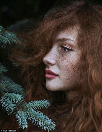 Photographer captures stunning portraits of flame-haired ladies