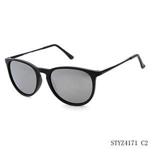 872d37a627 LongKeeper Classic Elegant Women s Sunglasses Polarized Lens Sunglasses  Oval Cat Eye Men Women Sun Glasses Black