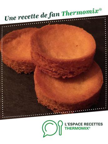Sablé breton du chef Christophe FELDER par Aurélie MORIN. Une recette de fan à retrouver dans la catégorie Pâtisseries sucrées sur www.espace-recettes.fr, de Thermomix<sup>®</sup>.
