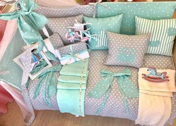85a8eb0a788 Προίκα Μωρού Handmade Estrellitas Jade