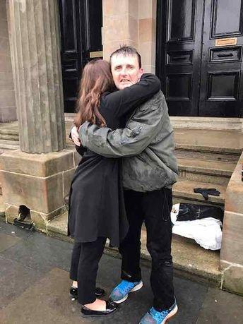 Homeless Man Gets Huge Reward for Standing Guard Over Stranger's Money in the Rain