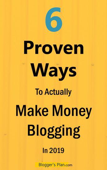 How Does a Blogger Actually Earn Money? - Blogger's Plan