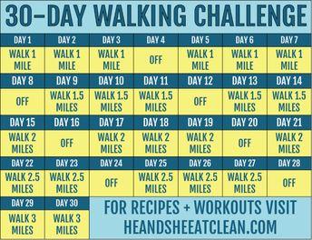 30-Day Walking Challenge