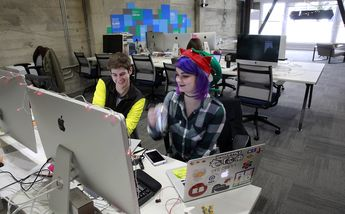 Microsoft, IBM look to co-working spaces for startup inspiration