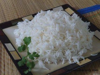 Basmati rice recipe (How to Cook Basmati Rice)