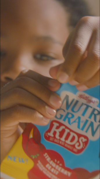 NEW Nutri-Grain Kids. Bite-sized fun that fits perfectly into the lunchbox routine.