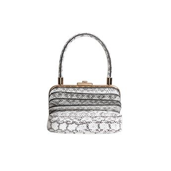 709139b10c9 NELLA Snakeskin Multi Layers Tote Bag