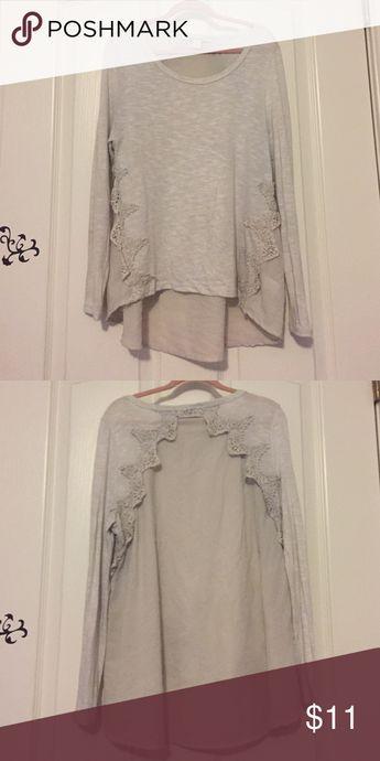 f224ea8f51fd Miami Long Sleeve Top Miami Long Sleeve Top. Super Cute! Sheet Back with  Crochet