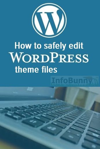 WordPress Fix for editing your theme files - InfoBunny by DexterRoona
