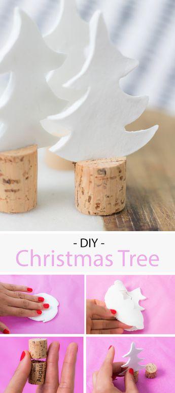 Weihnachtsbäume aus Stoff nähen - kostenloses Tutorial via