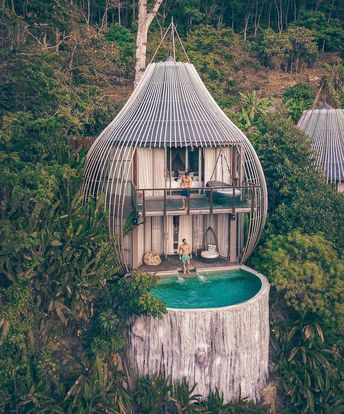 Welcome to @keemalaphuket 😍 Phuket, #thailand  - Tag your bae you'd stay in these tree pods with 🌴 #honeymoon #travel