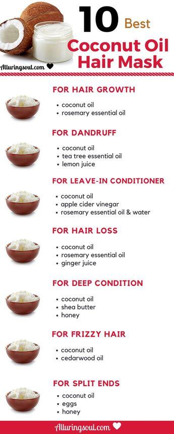 #capillaire #coco #l39huile #Masque #meilleurs - L'huile de coco est la meilleure huile pour faire pousser des cheveux plus beaux, plus forts et plus longs. Essayez ce masque d'huile de coco pour cheveux pour résoudre votre problème de tous les cheveux.