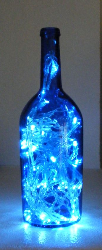 LED Lamp Out of a Wine Bottle