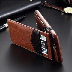 Leather Case For iPhone X 8 7 6S 6 Plus Card Slot Holder Cases For iPhone XS XS Max XR Plus