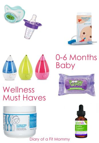 0-6 Months Sick Baby Wellness Must Haves Kit