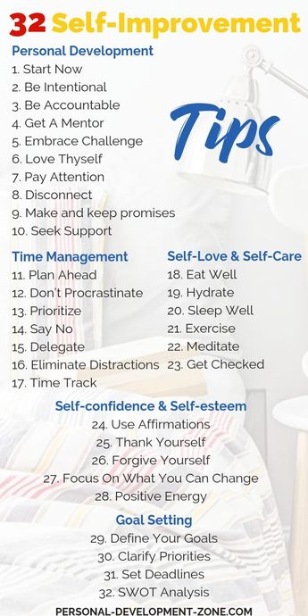 32 Self-Improvement Tips To Bring You Success In Life